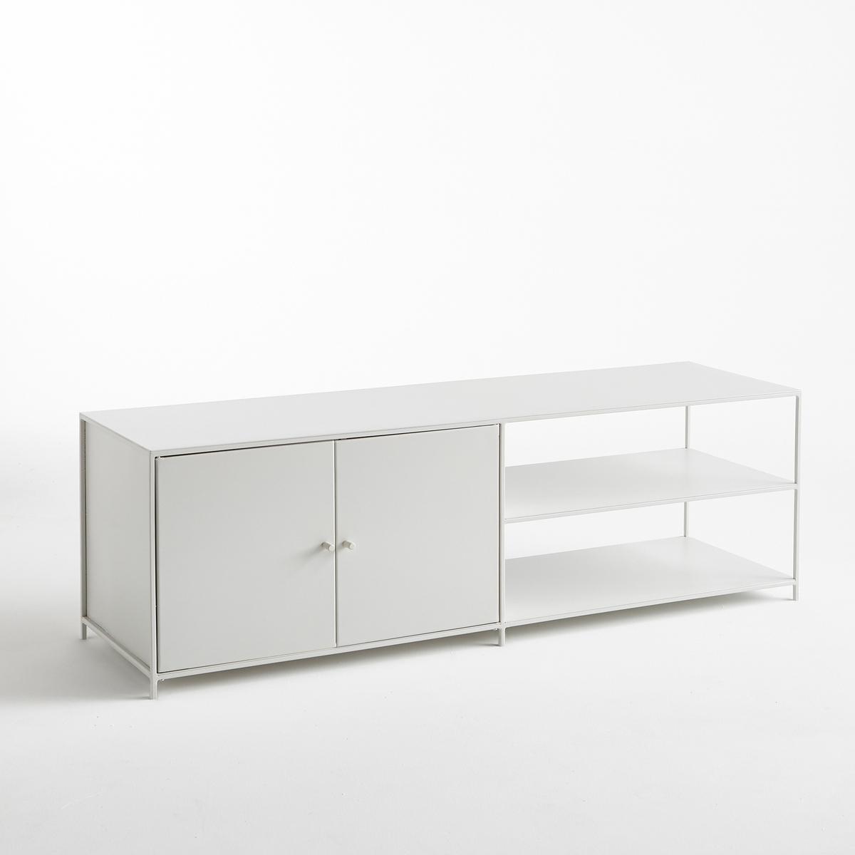 Mueble para TV de metal largo 2 puertas, Romy
