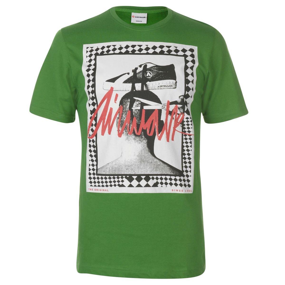 T-shirt col rond imprimé graphique