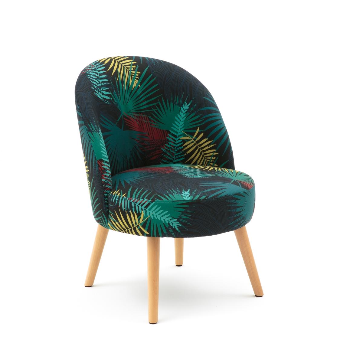 Кресло винтажное с принтом QUILDA