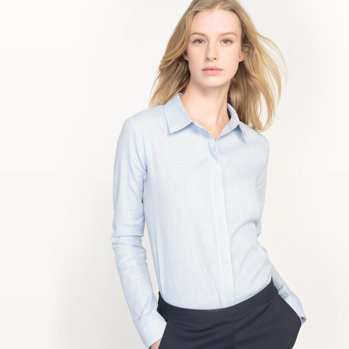 Фото Рубашка из льна, Made in France. Купить с доставкой