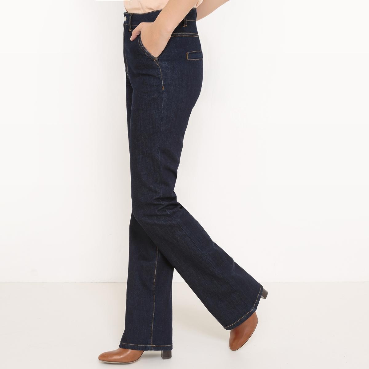 Джинсы расклешенные джинсы расклешенные длина 34