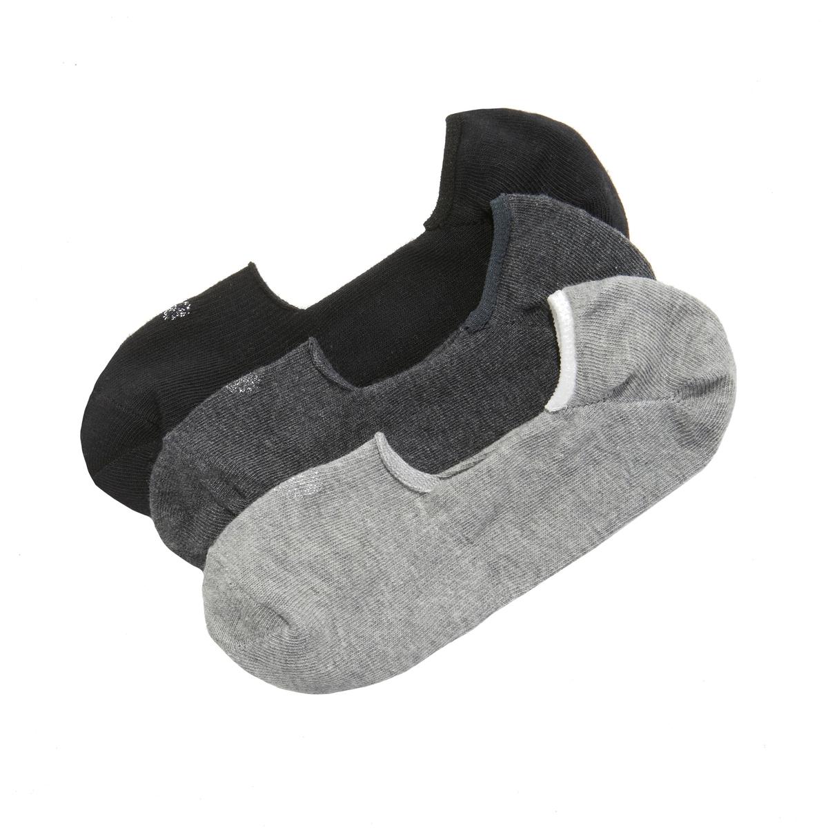 Набор La Redoute Из пар коротких носков 35/41 серый цена и фото