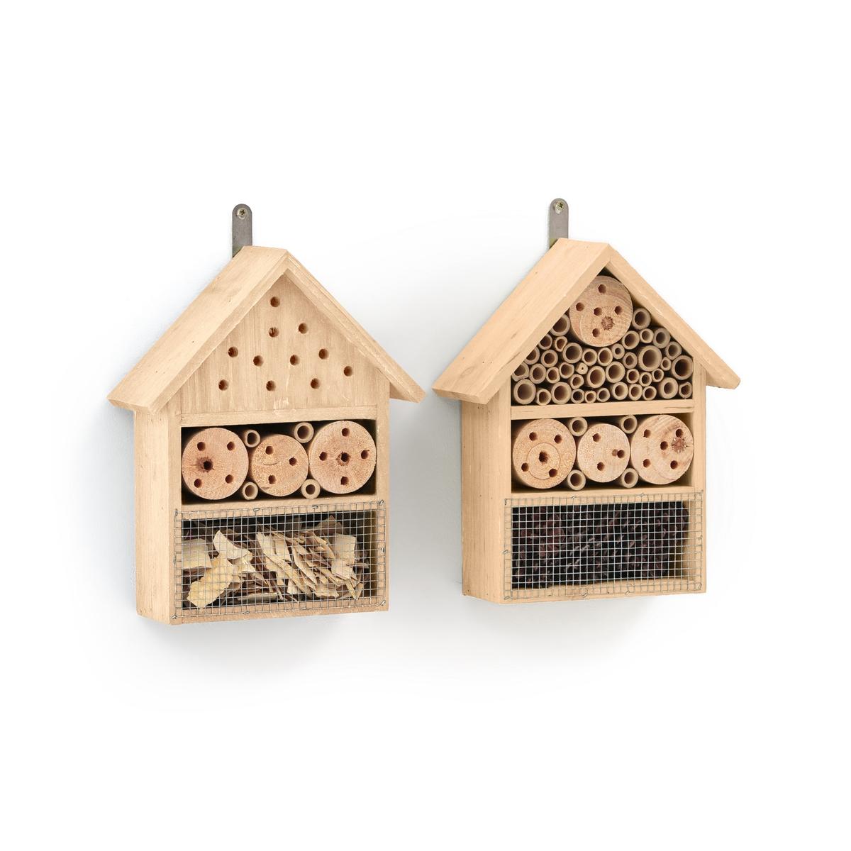 Комплект из 2 домиков для насекомых BOREFUGE штора bartica quelle quelle 770777 2 в ш 175x140 см