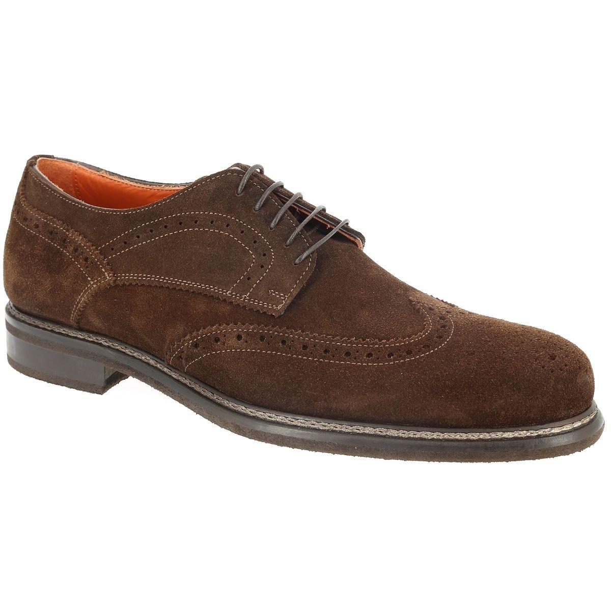 Chaussures à lacets Velours