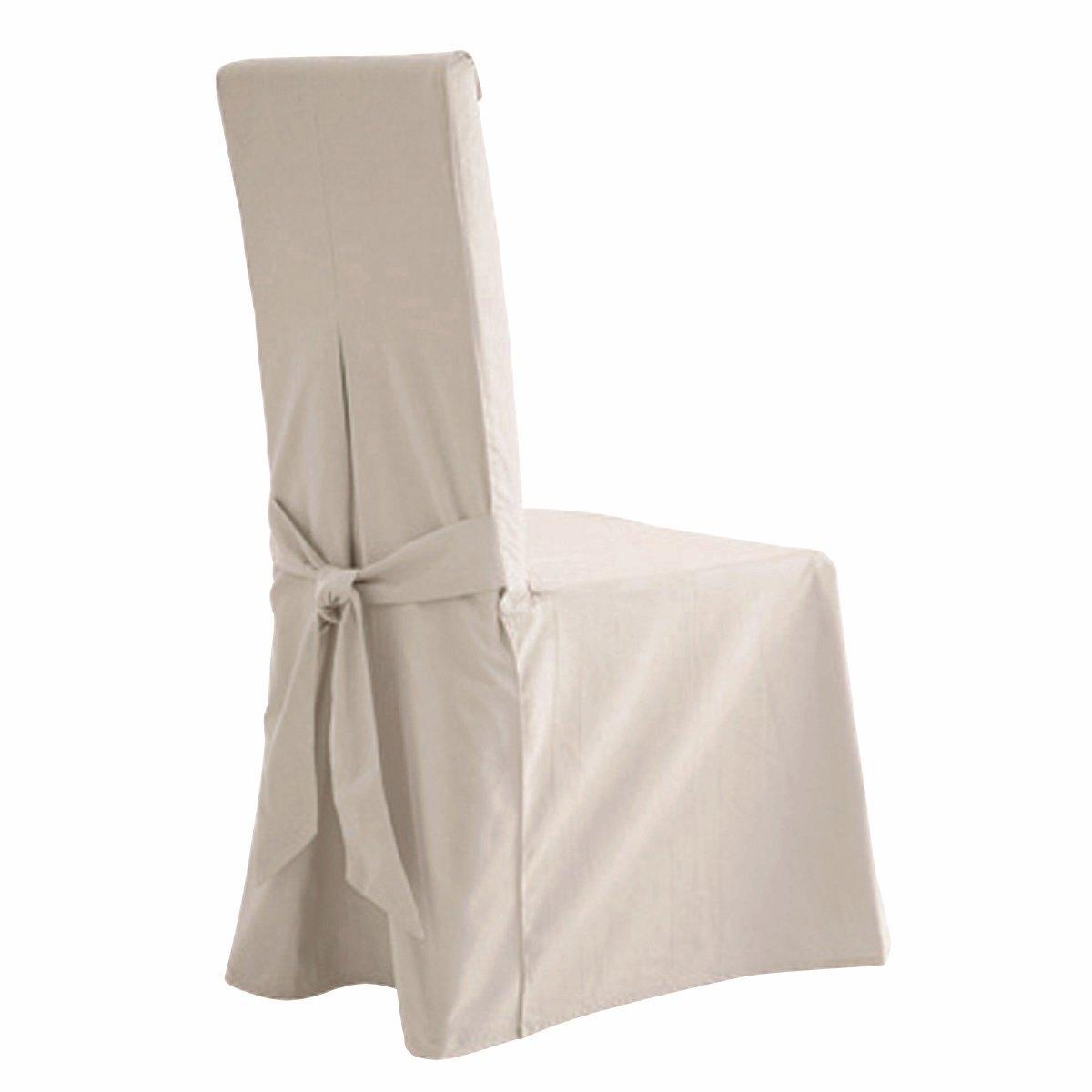 2 чехла для стулаСтильная модель выполнена в ультрасовременной цветовой гамме. Характеристика чехла для стула:- Красивая плотная ткань из 100% хлопка (220 г/м?), прочная и тяжелая. Стильная цветовая гамма.- Изысканная отделка: 2 встречные складки спереди, встречная складка и бант сзади. Качественная окраска: превосходная стойкость цвета перед воздействием солнечных лучей и стирки (40°).Размеры чехла для стула:- Спинка: общая высота 55 см, толщина 5 см, ширина 37 см.- Сидение: ширина от 37 до 45 см x глубина 40 см.- Юбка: высота 45 см.В комплекте 2 чехла одного цвета.Качество VALEUR SURE. Производство осуществляется с учетом стандартов по защите окружающей среды и здоровья человека, что подтверждено сертификатом Oeko-tex®.<br><br>Цвет: антрацит,белый,медовый,облачно-серый,рубиново-красный,серо-коричневый каштан,сине-зеленый,синий индиго,сливовый,черный,экрю<br>Размер: единый размер.единый размер.единый размер.единый размер.единый размер.единый размер