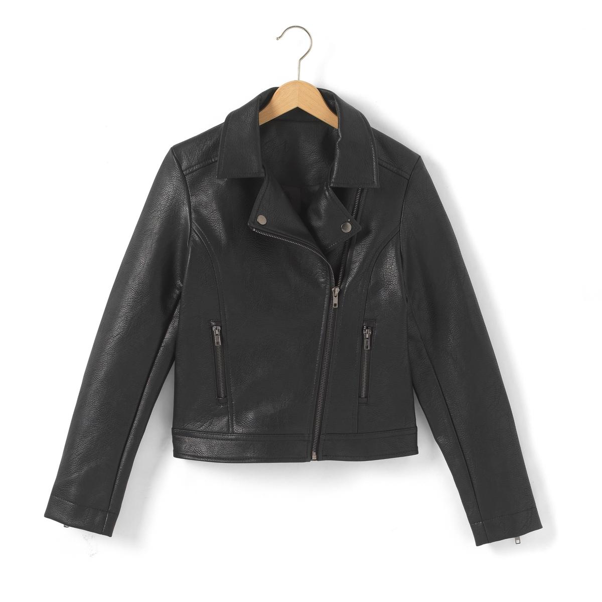 Куртка в байкерском стиле, 10-16 лет