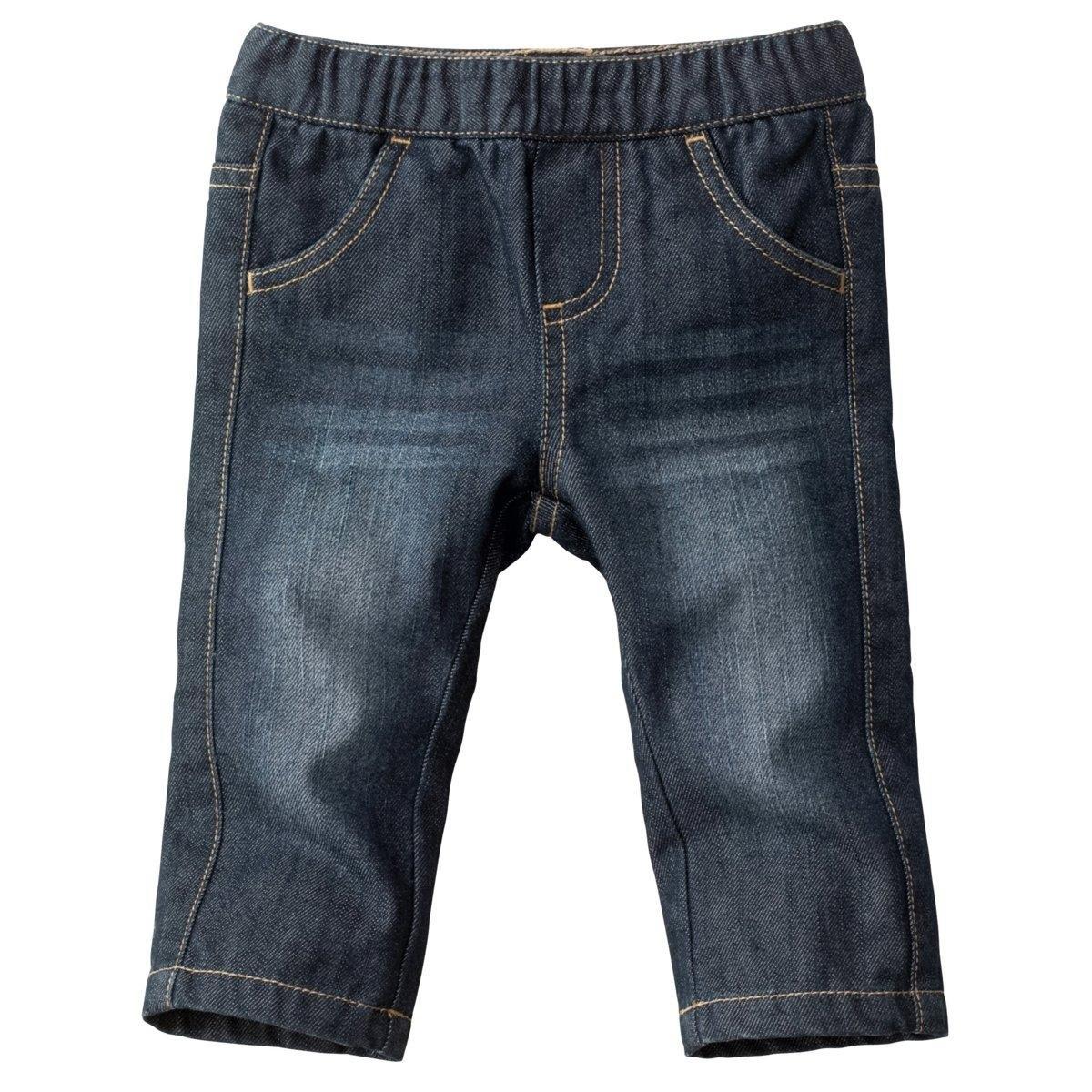 Джинсы прямые, 1 мес. - 3 годаПрямые джинсы из денима, удобный пояс на резинке. 2 кармана спереди и  2 кармана сзади. Ложный гульфик.  Эффект складок и потертостей спереди и сзади. Контрастная строчка. Состав и описание:Материал:100% хлопка.Марка: R ?dition.Уход:Стирка, сушка и глажка с изнанки.Машинная стирка при 30°С на умеренном режиме с одеждой схожих цветов.Машинная сушка запрещена.Гладить при умеренной температуре.<br><br>Цвет: темно-синий<br>Размер: 3 мес. - 60 см.6 мес. - 67 см.18 мес. - 81 см