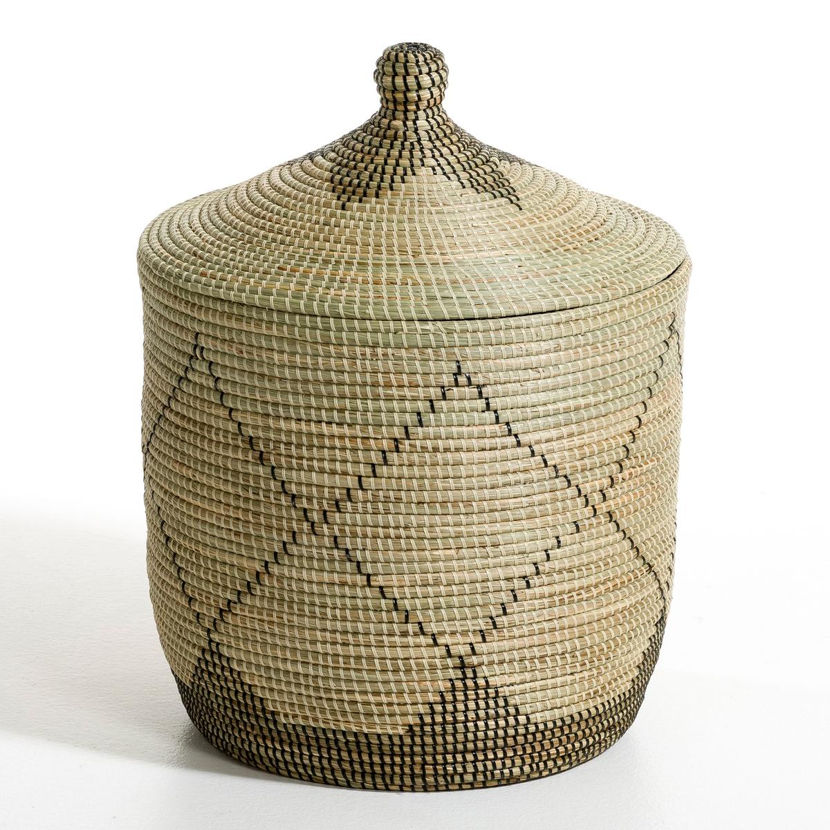 Корзина из рисовой соломы Louna, большая модель, высота 60 см louna полюса