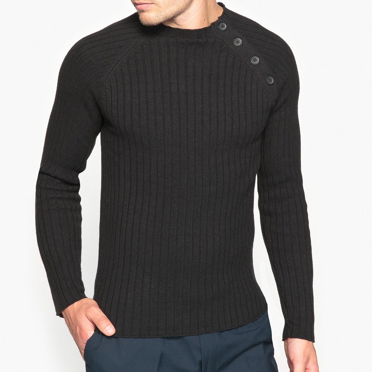 Пуловер с воротником-стойкой от La Redoute Collections
