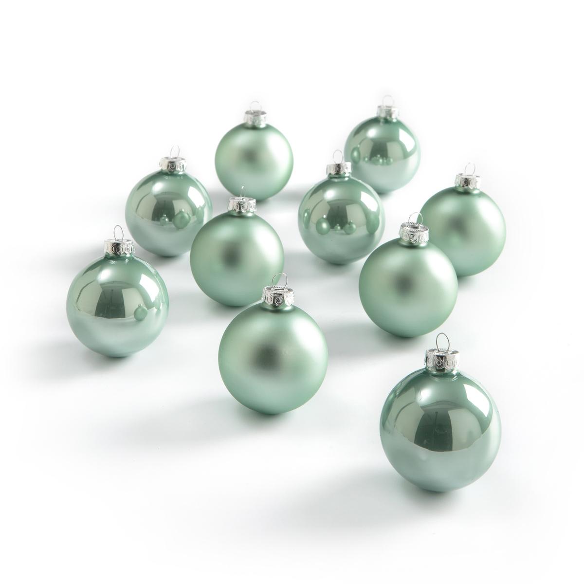 Комплект из 10 новогодних шаров, CASPAR caspar lee