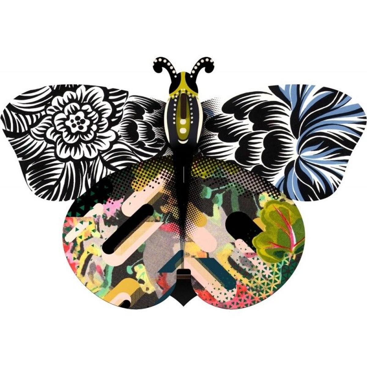 Papillon mural décoratif bois Unexpected Things Mimi