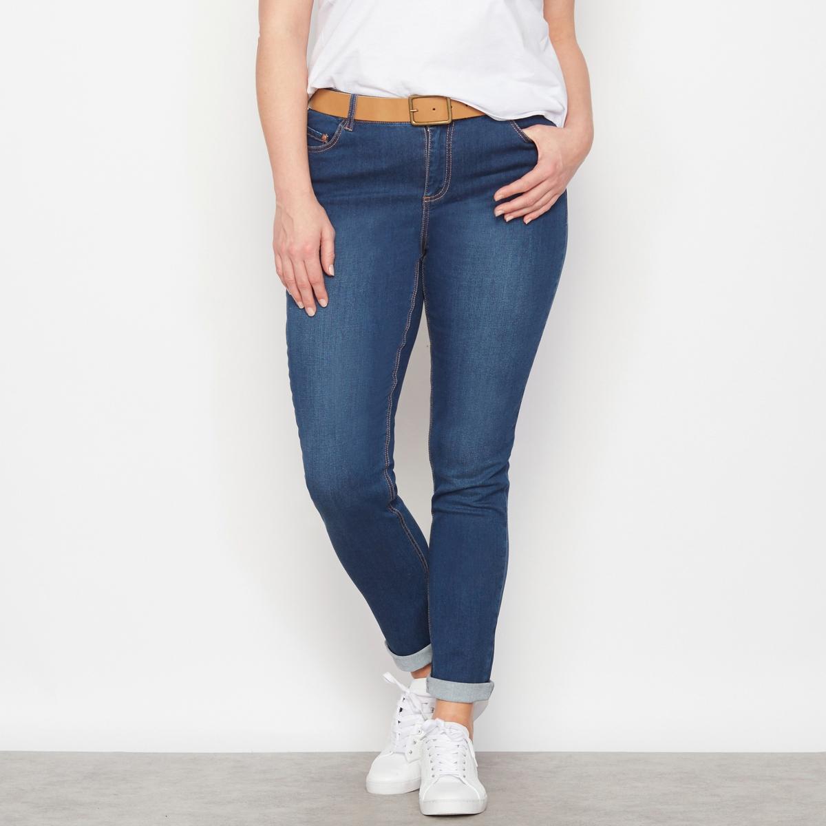 Джинсы Утончённый силуэт, длина по внутр. шву. 73 см.У вас небольшой рост, узкие бёдра и прямая фигура: эти джинсы буткат приспособятся к вашим особенностям, чтобы вы выглядели великолепно! Брючины заужены к низу. 5 карманов. Рост -  1м65 : длина по внутреннему шву 73 см, ширина по низу 15,5 см.<br><br>Цвет: голубой потертый,синий потертый,темно-синий,черный<br>Размер: 52 (FR) - 58 (RUS).42 (FR) - 48 (RUS).44 (FR) - 50 (RUS).46 (FR) - 52 (RUS).52 (FR) - 58 (RUS).54 (FR) - 60 (RUS).54 (FR) - 60 (RUS).54 (FR) - 60 (RUS).56 (FR) - 62 (RUS).58 (FR) - 64 (RUS)