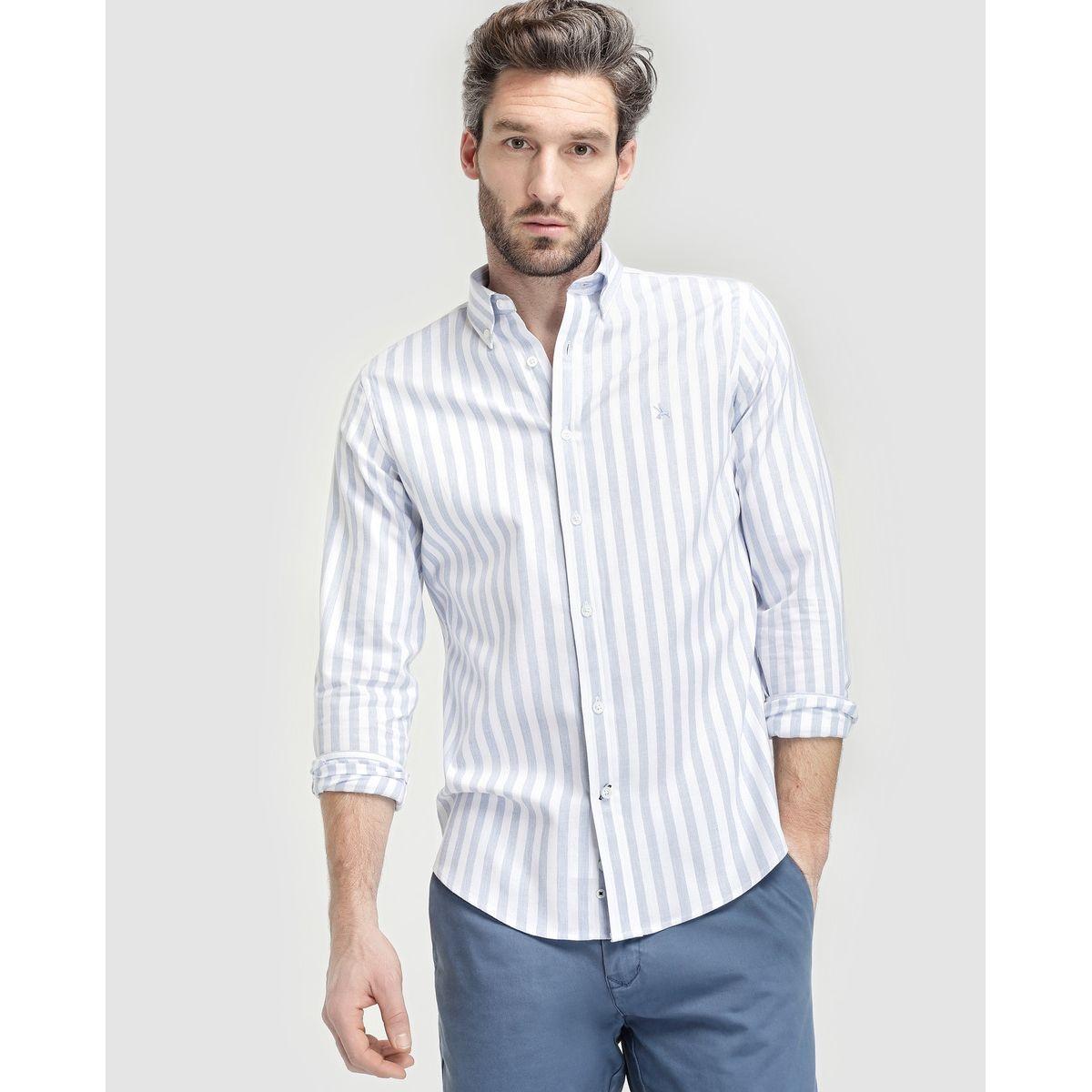 Chemise regular Lloyd's à motife