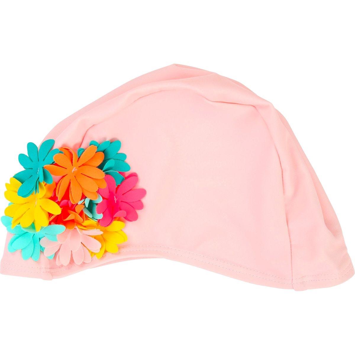 Bonnet de bain à fleurs