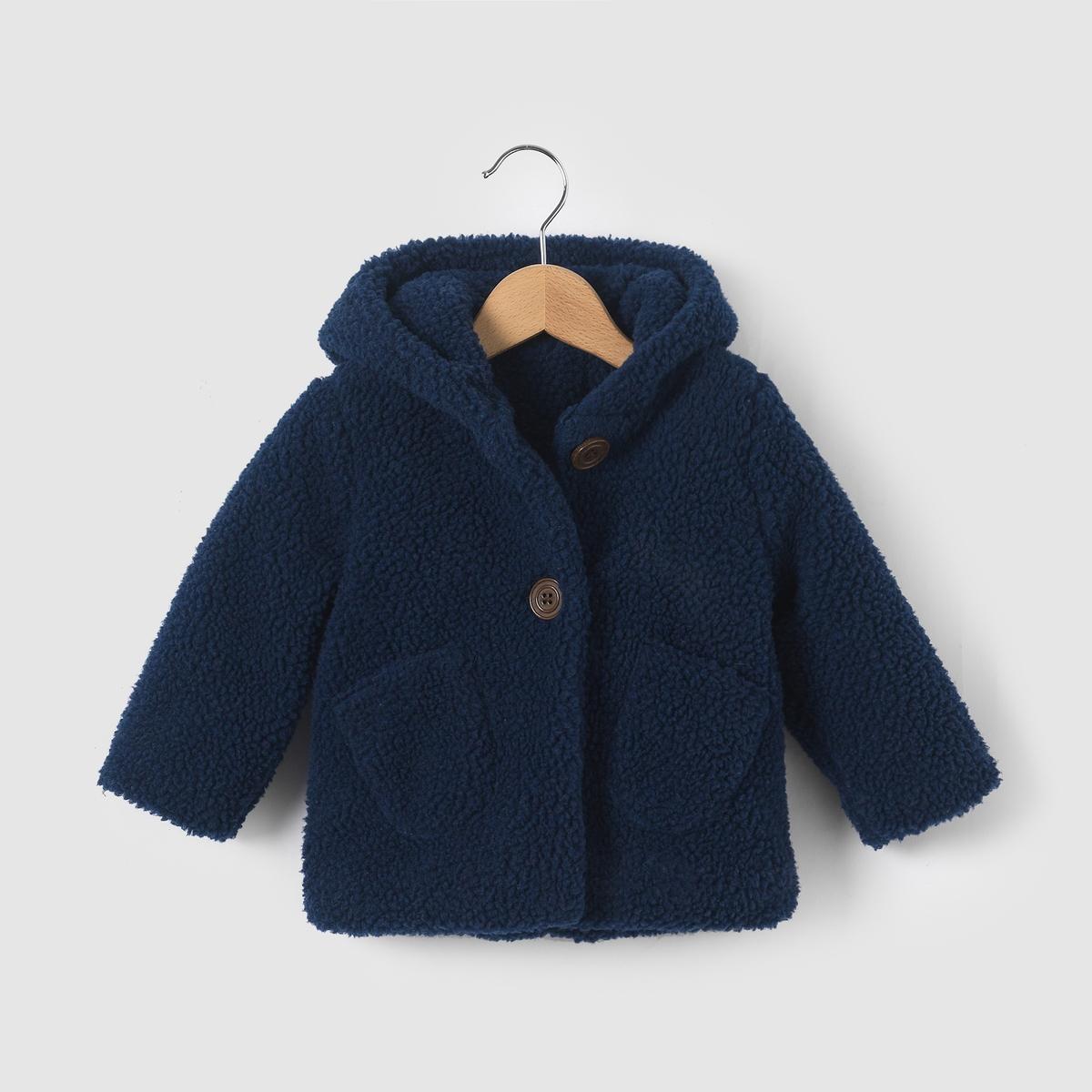 Пальто из искусственного меха на 1 мес.-3 года