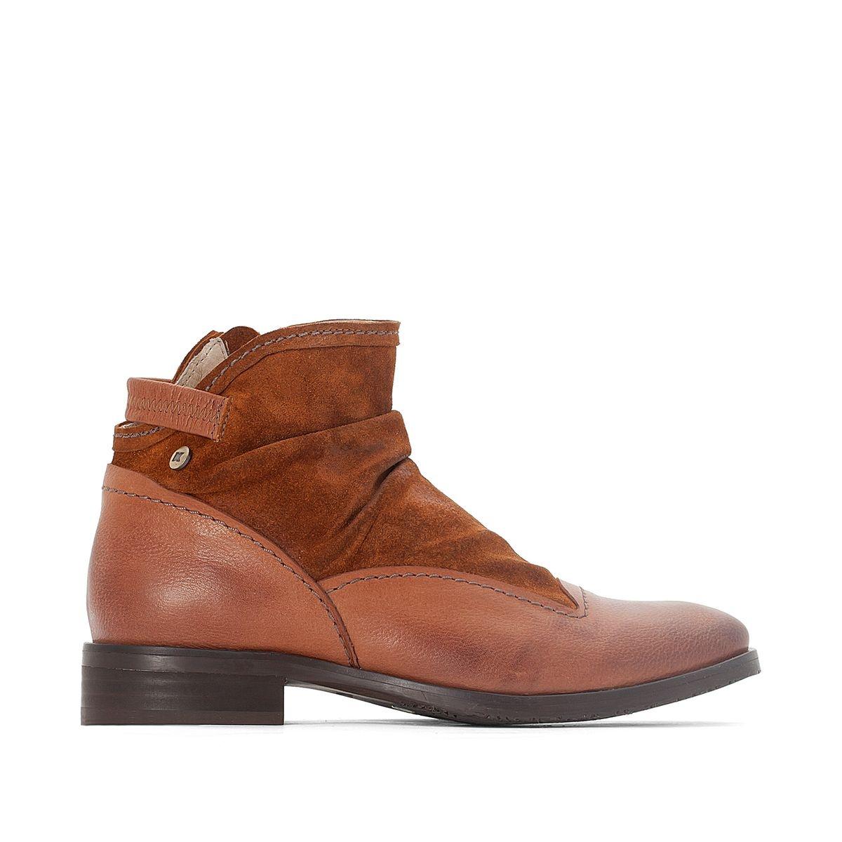 Boots cuir Hyria