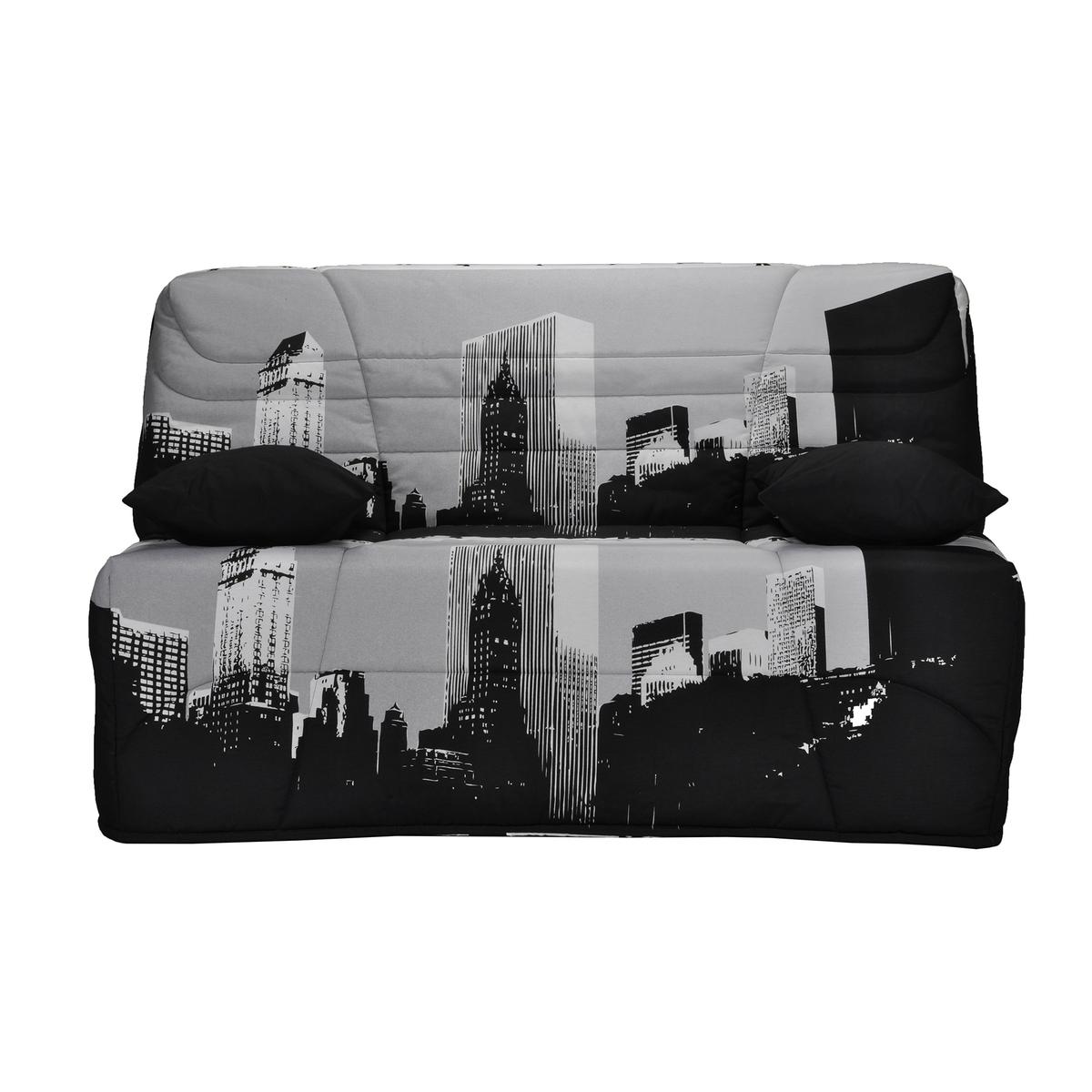 Чехол LaRedoute Для дивана-книжки BZ матрас 15 см 250 гм 90 x 190 см черный