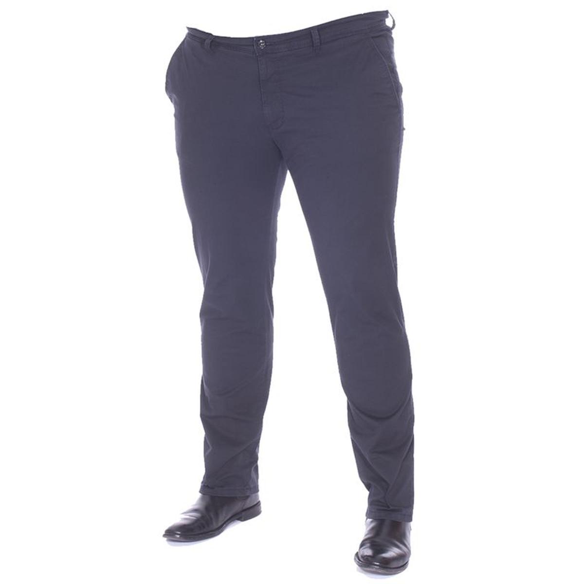 Pantalons homme grande taille Coton, Elasthane