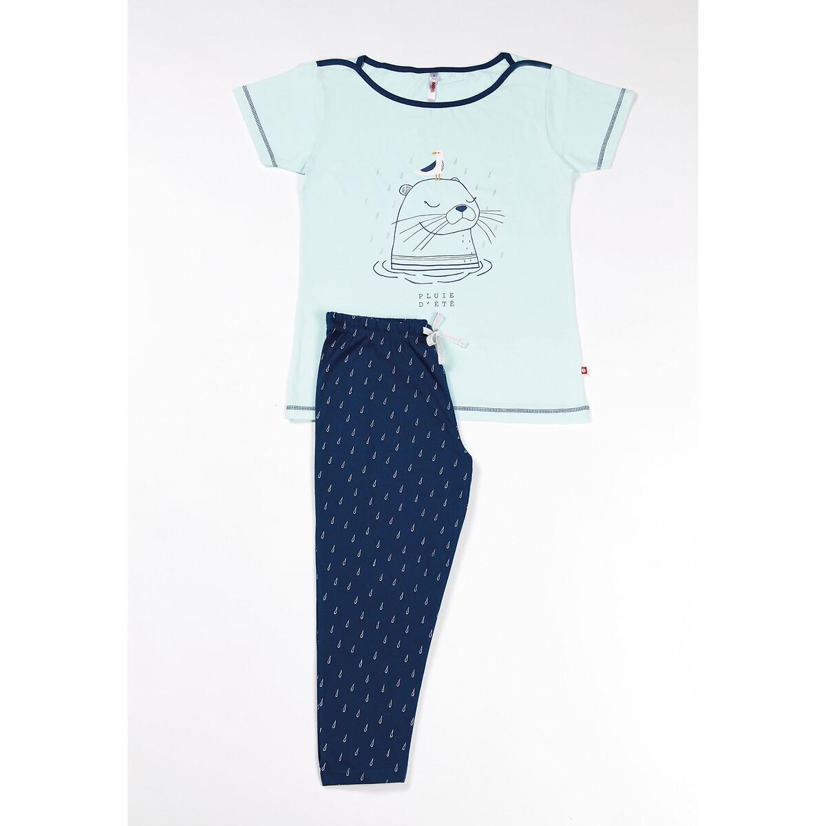 Pijama em algodão bio, Bretagne