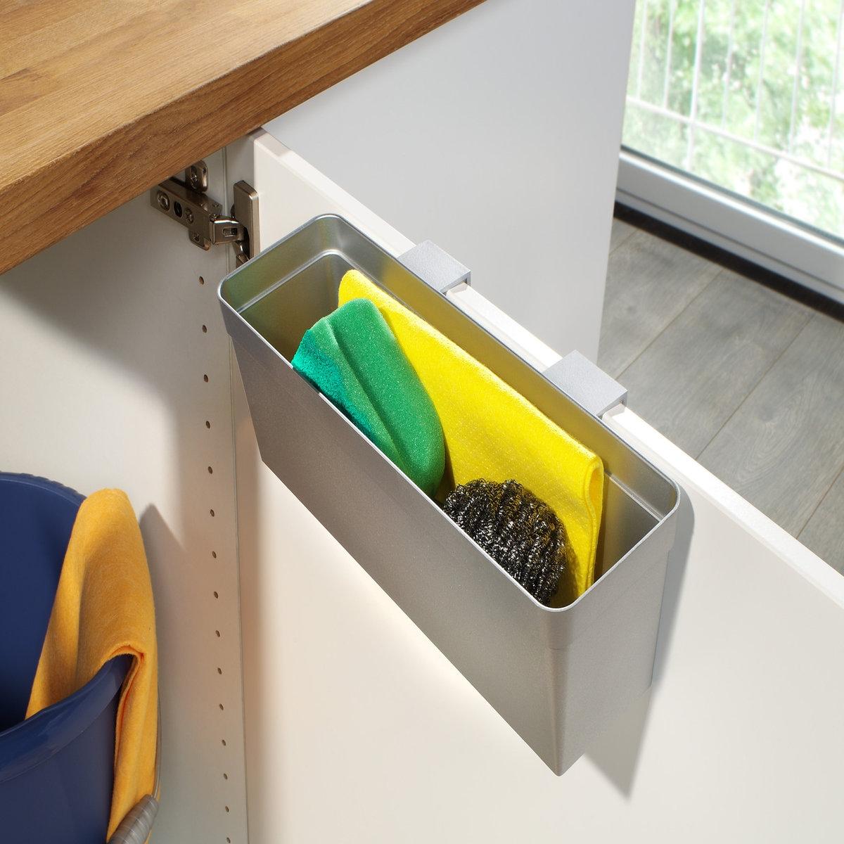 Ящик для стенного шкафа, ArmarioЧтобы оптимизировать пространство, задумайтесь о приобретении этого ящика ! Характеристики ящика для стенного шкафа Armario :Каркас и крепление из пластика .Крепится поверх дверки стенного шкафа внутри .Идеален для хранения тряпок, губок и других аксессуаров !Найдите коллекцию для хранения вещей на нашем сайте..Размеры ящика  Armario:30 x 10 x 11,5 см (для дверей шириной до 2 см).0,2 кг .<br><br>Цвет: серый