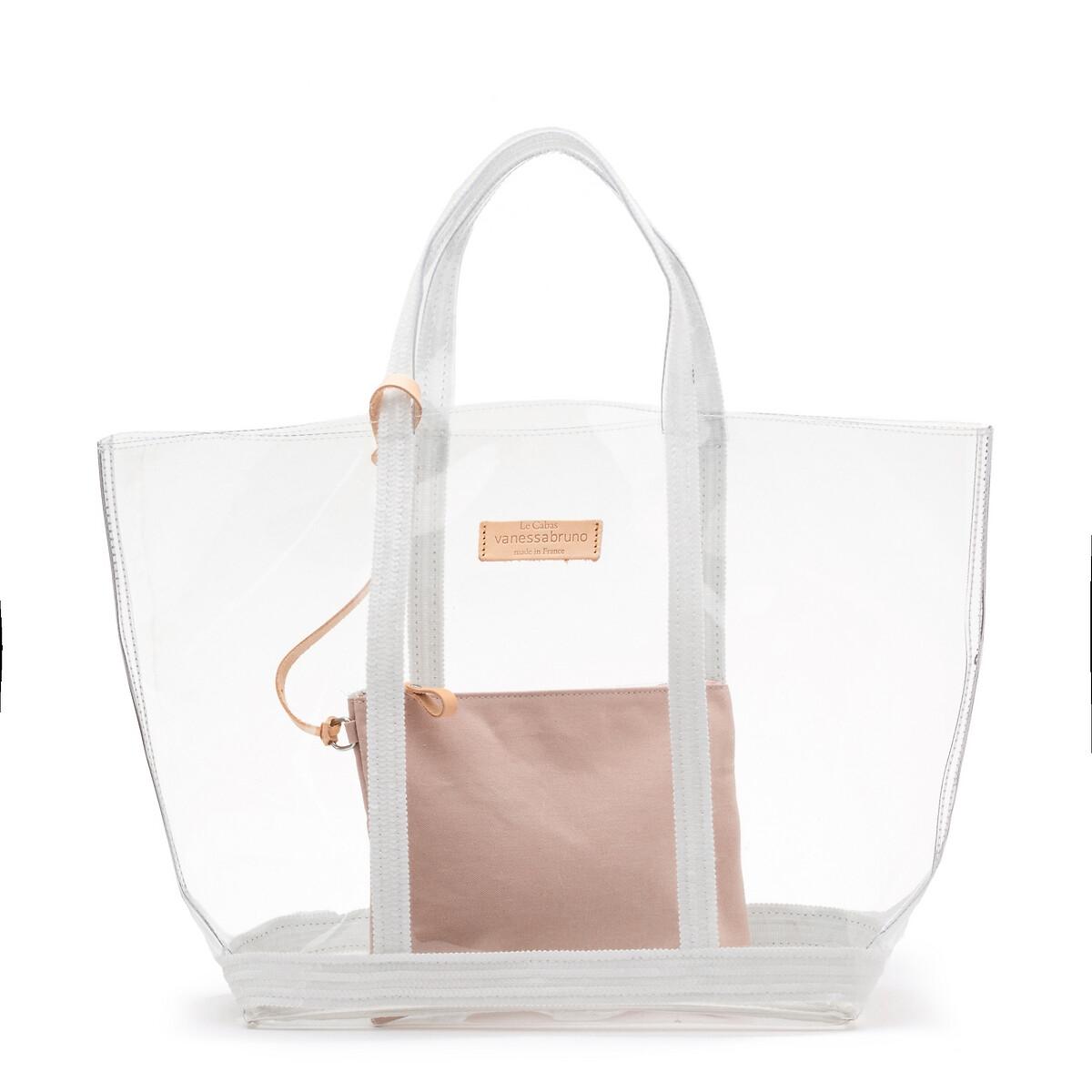 Сумка-шоппер La Redoute Прозрачная большого размера единый размер белый