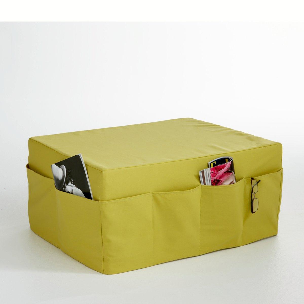 Банкетка-пуф со съемным чехлом, большая,  Meeting матрасы candide дышащий со съемным чехлом 60х120x11 см