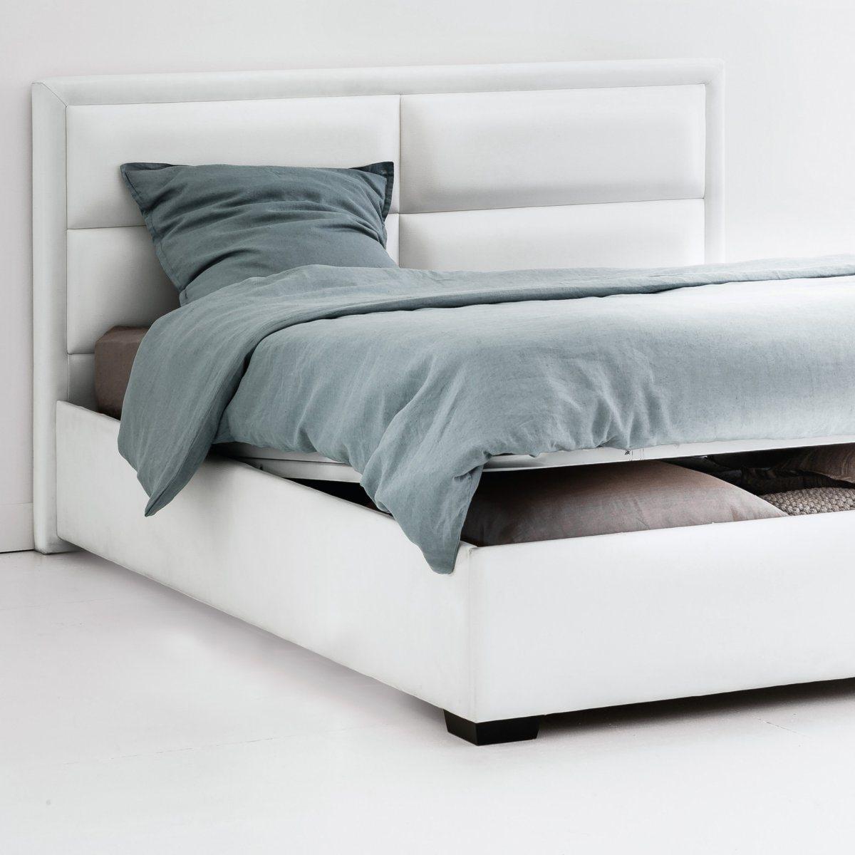 """Bett """"Blax"""" mit Kopfteil, Lattenrost und Bettkasten"""