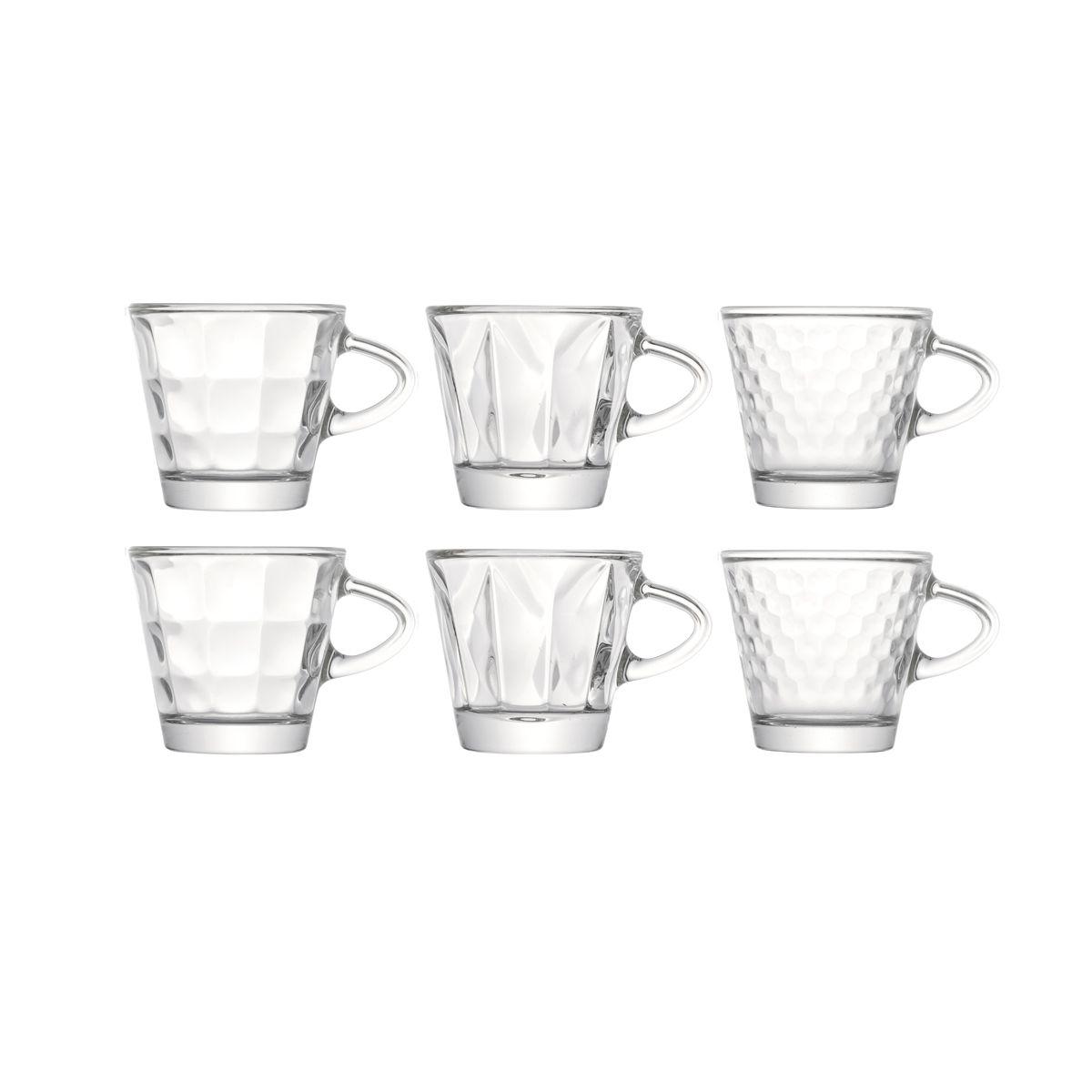 Tasses à expresso en verre 7,5cl - Boîte de 6 - TRIWA