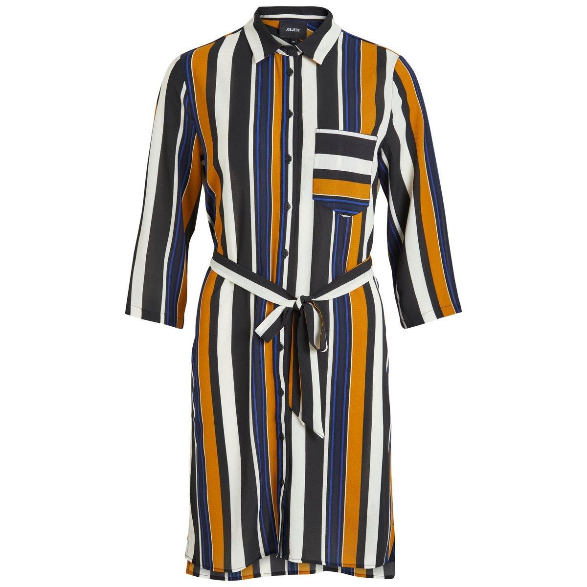 Robe À rayures, chemise