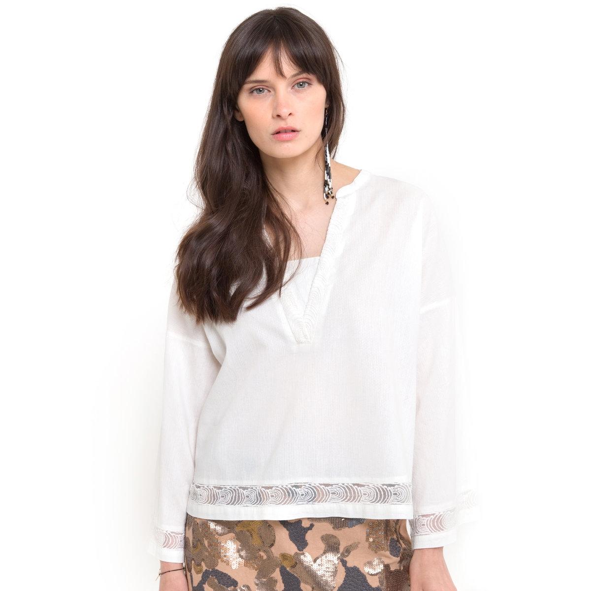 Блузка с широкими рукавами цены онлайн