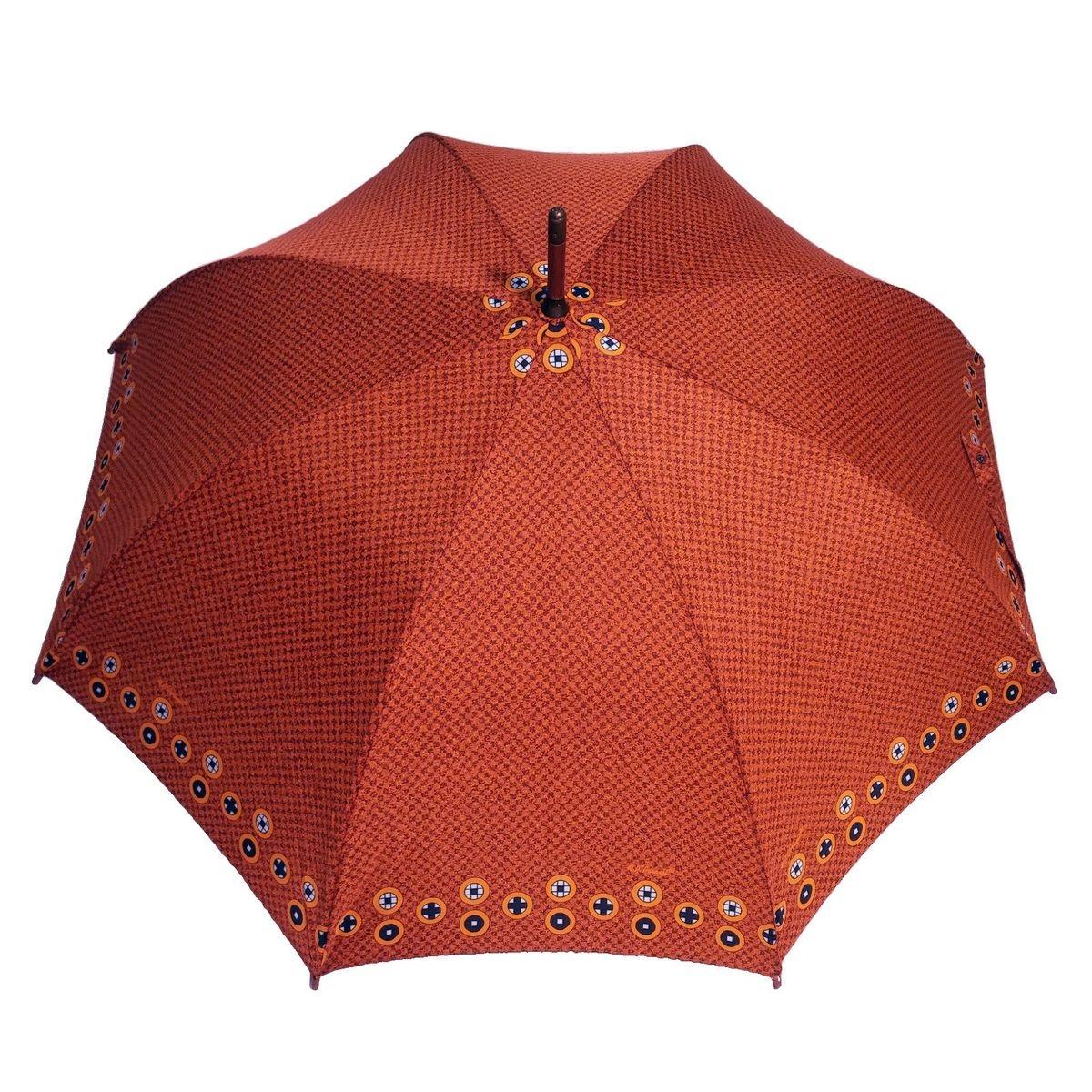 Parapluie long Femme Terana Orange - Fabriqué en europe
