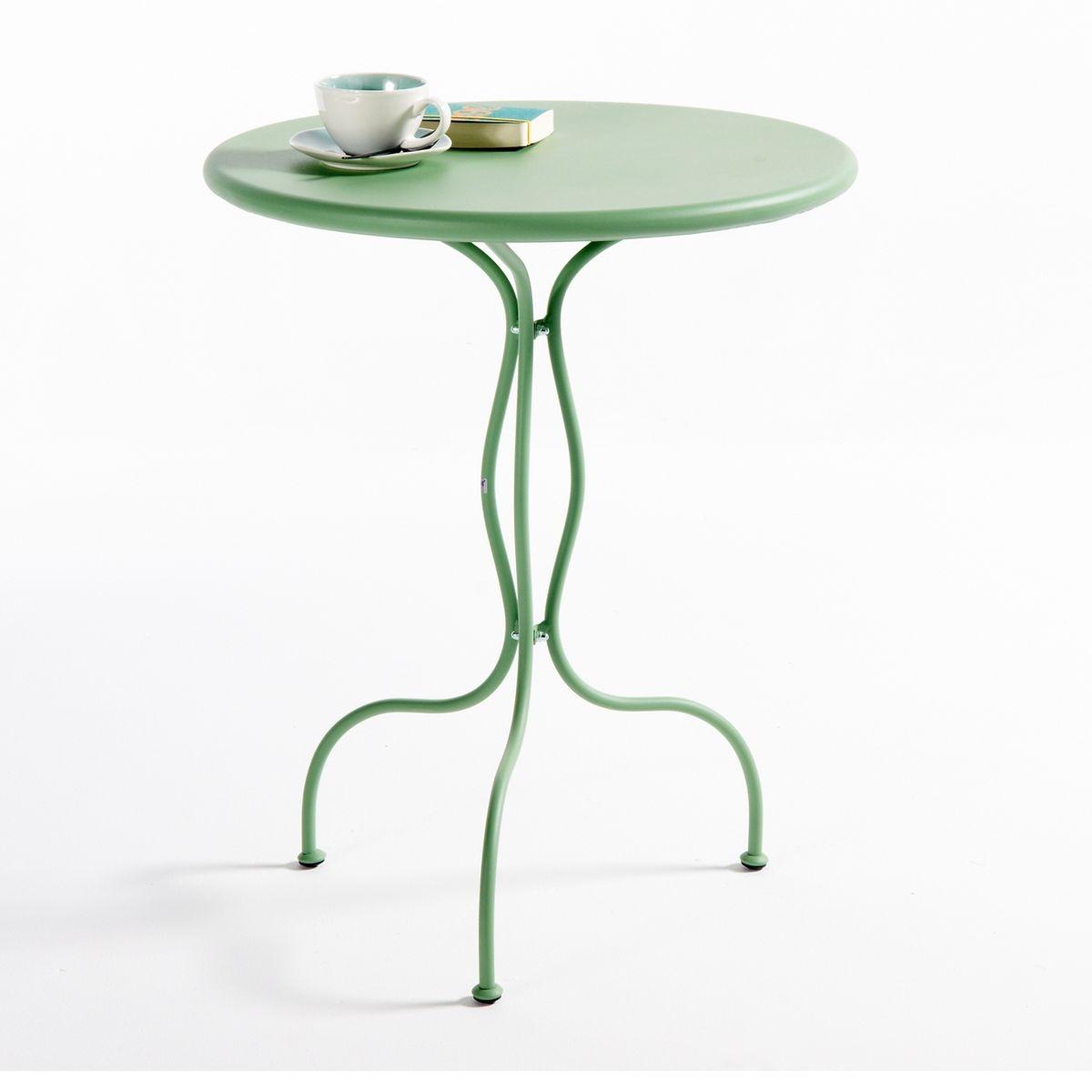 bien choisir une table de jardin en fer forg pas ch re. Black Bedroom Furniture Sets. Home Design Ideas