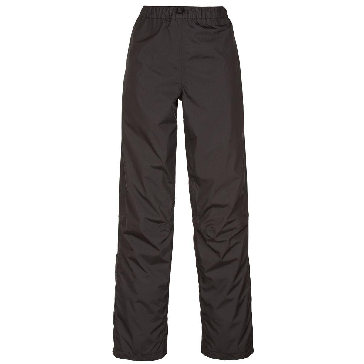 Fluid - Pantalon de pluie femme - noir