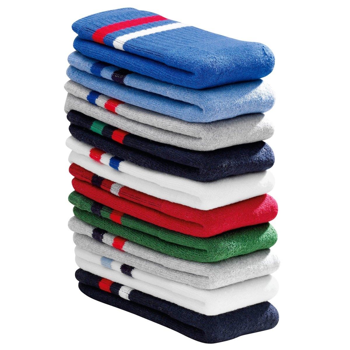 Комплект из 10 пар носков LaRedoute La Redoute 39/42 синий комплект из 6 пар носков la redoute la redoute 39 45 черный