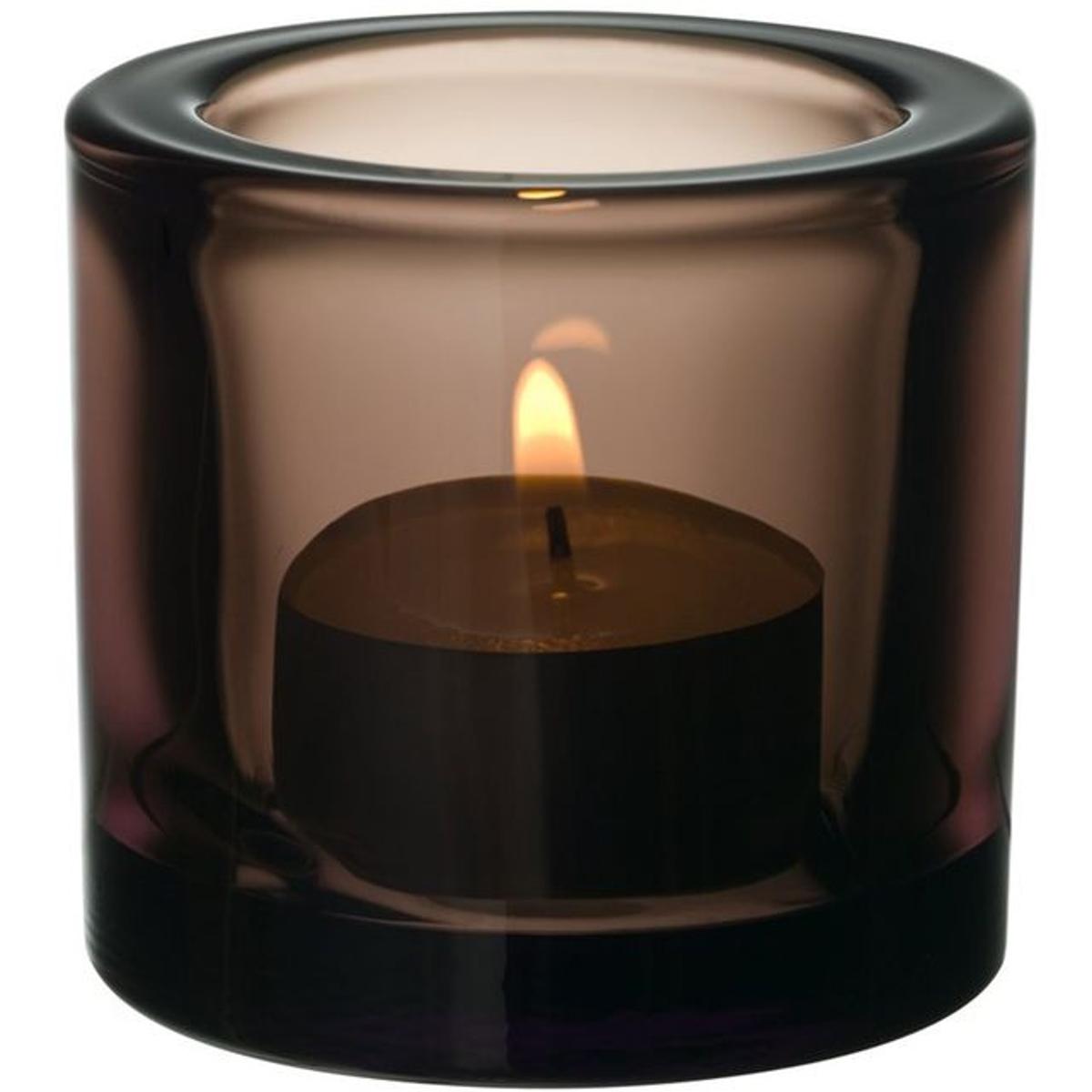 Support à bougie chauffe-plat iittala Kivi- Sable