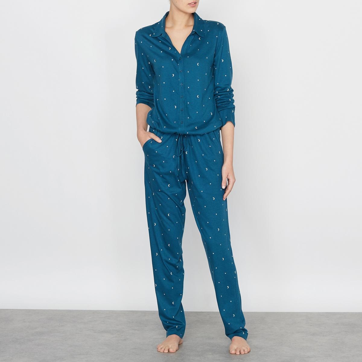 Пижама-комбинезон с рисунком