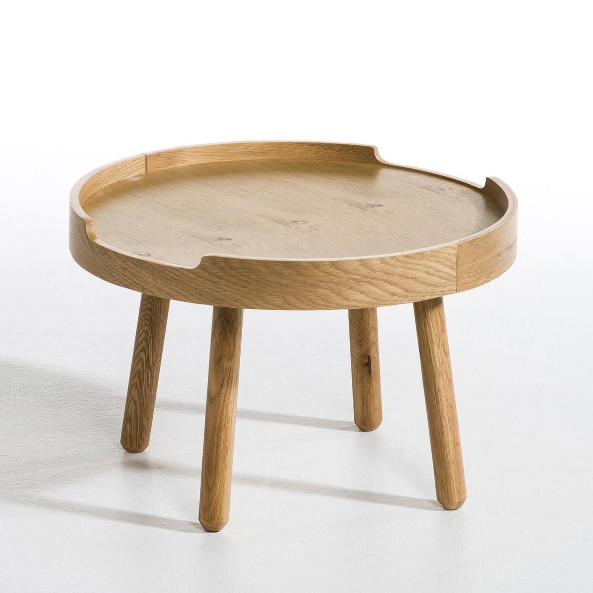 Стол журнальный со съемной столешницей, VisbyСтолик журнальный Visby. Практичный благодаря съемной столешнице, этот журнальный столик представлен в 3 вариантах по высоте  .Характеристики :Столешница из бука, шпон из дуба.Ножки из массива дуба.Размеры :Размер S : ?45 x В. 29 см.Размер M : ?45 x В. 35 см.Размер L : ?45 x В. 69 см.<br><br>Цвет: серо-бежевый<br>Размер: S