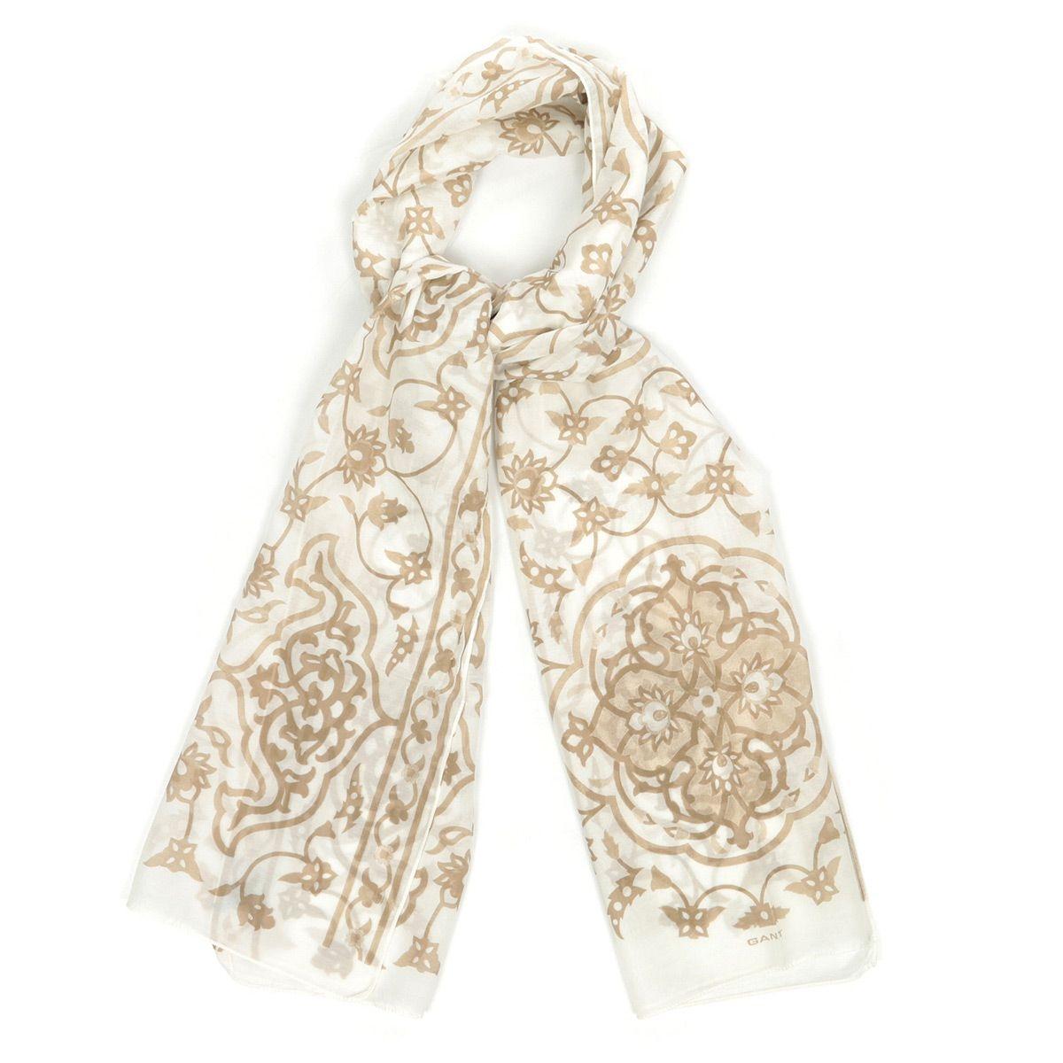 Foulards Floral Batik Scarf