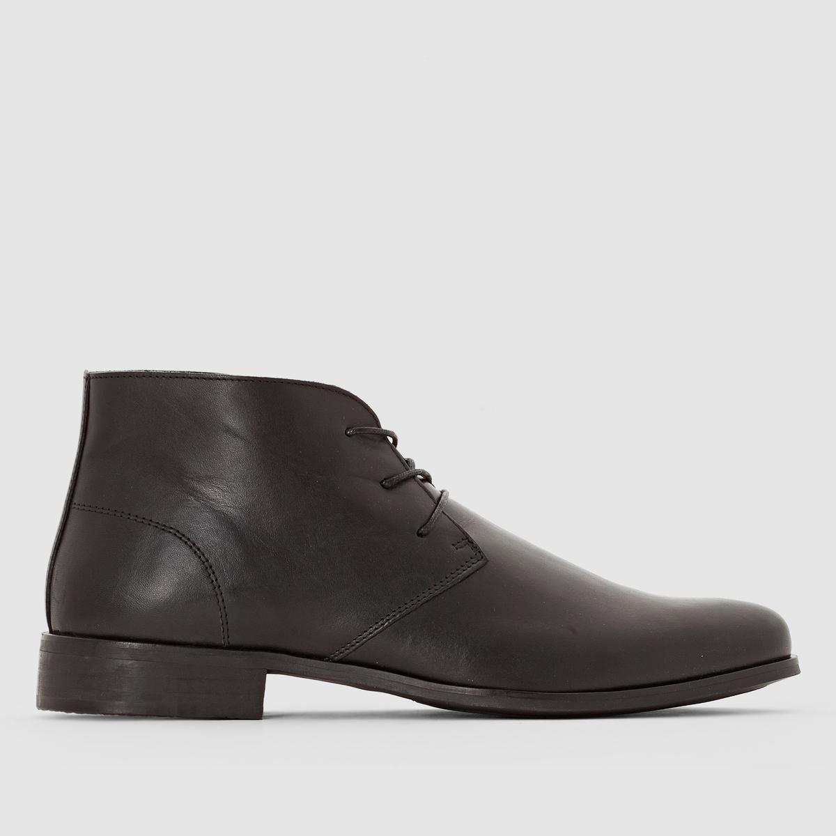Ботинки-дерби кожаные ботинки дерби кожаные
