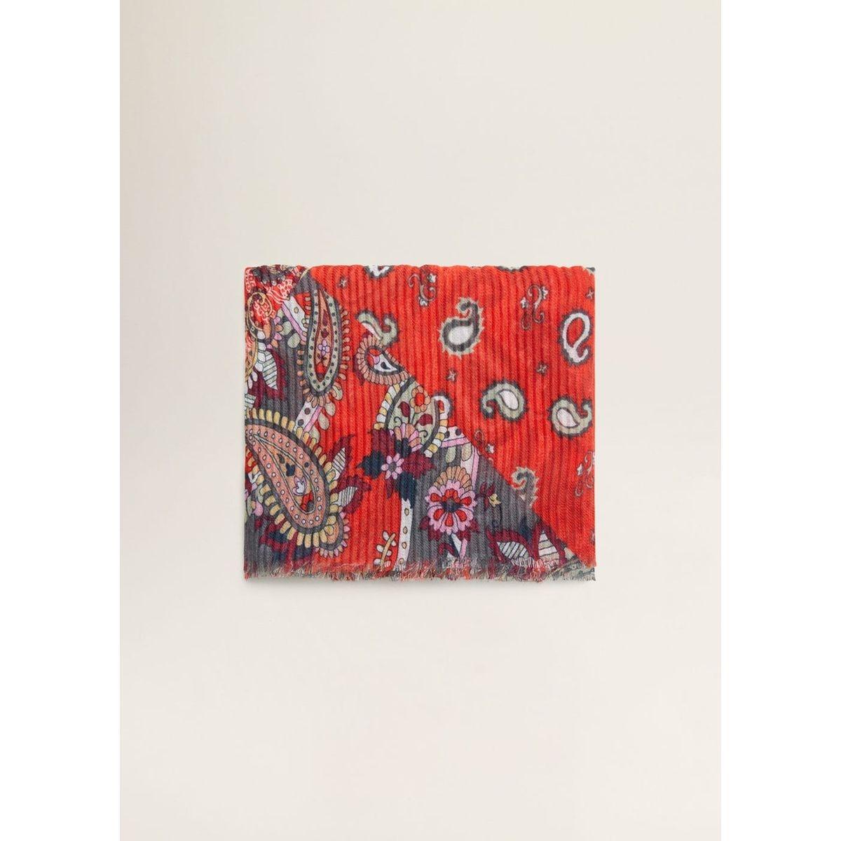 Foulard imprimé patchwork