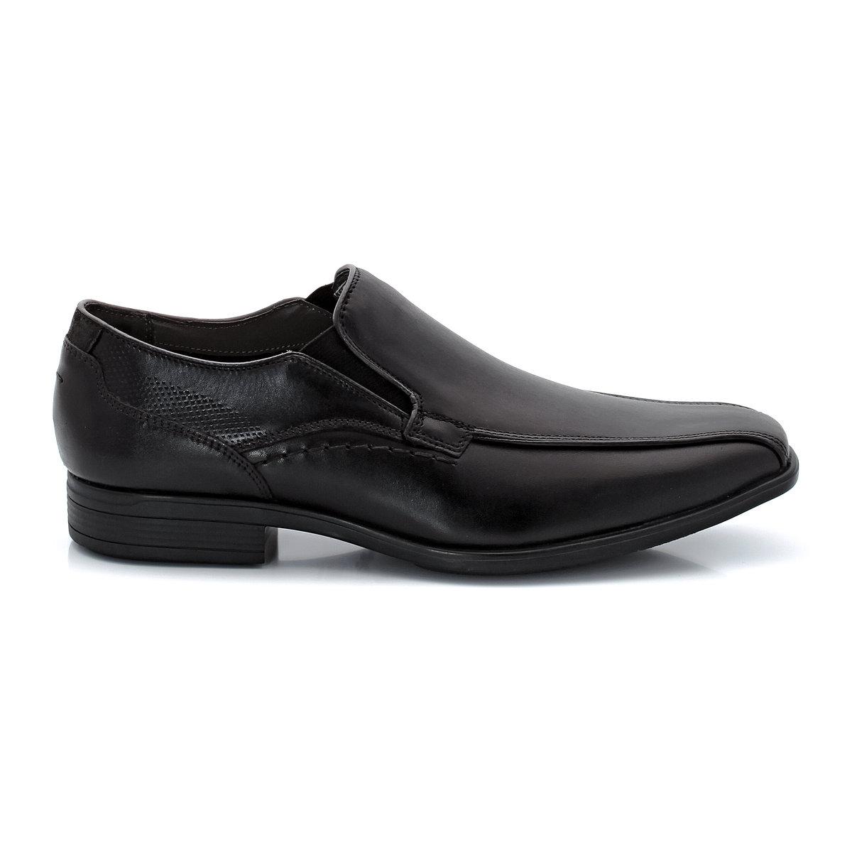 Ботинки-дерби из кожиЯркая и привлекательная модель на пике моды.<br><br>Цвет: черный<br>Размер: 40