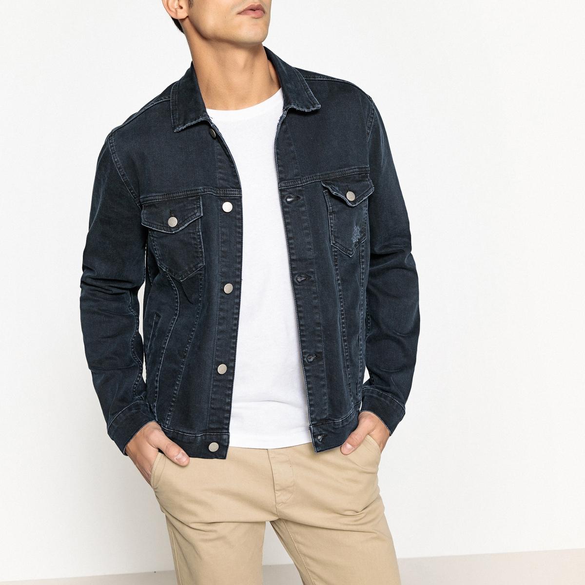 Жакет джинсовый прямого покроя футболка поло fred perry m3593 d69