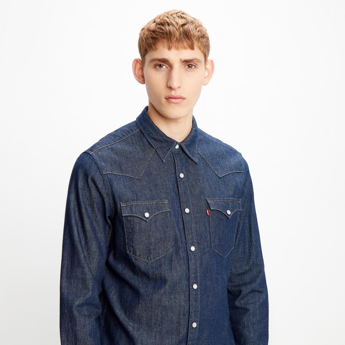 Image of Barstow Western Denim Shirt