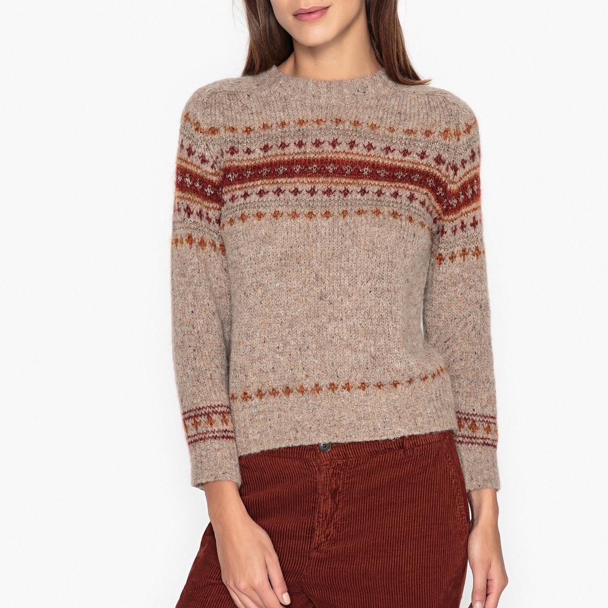 Пуловер с жаккардовым рисунком BERTRAND