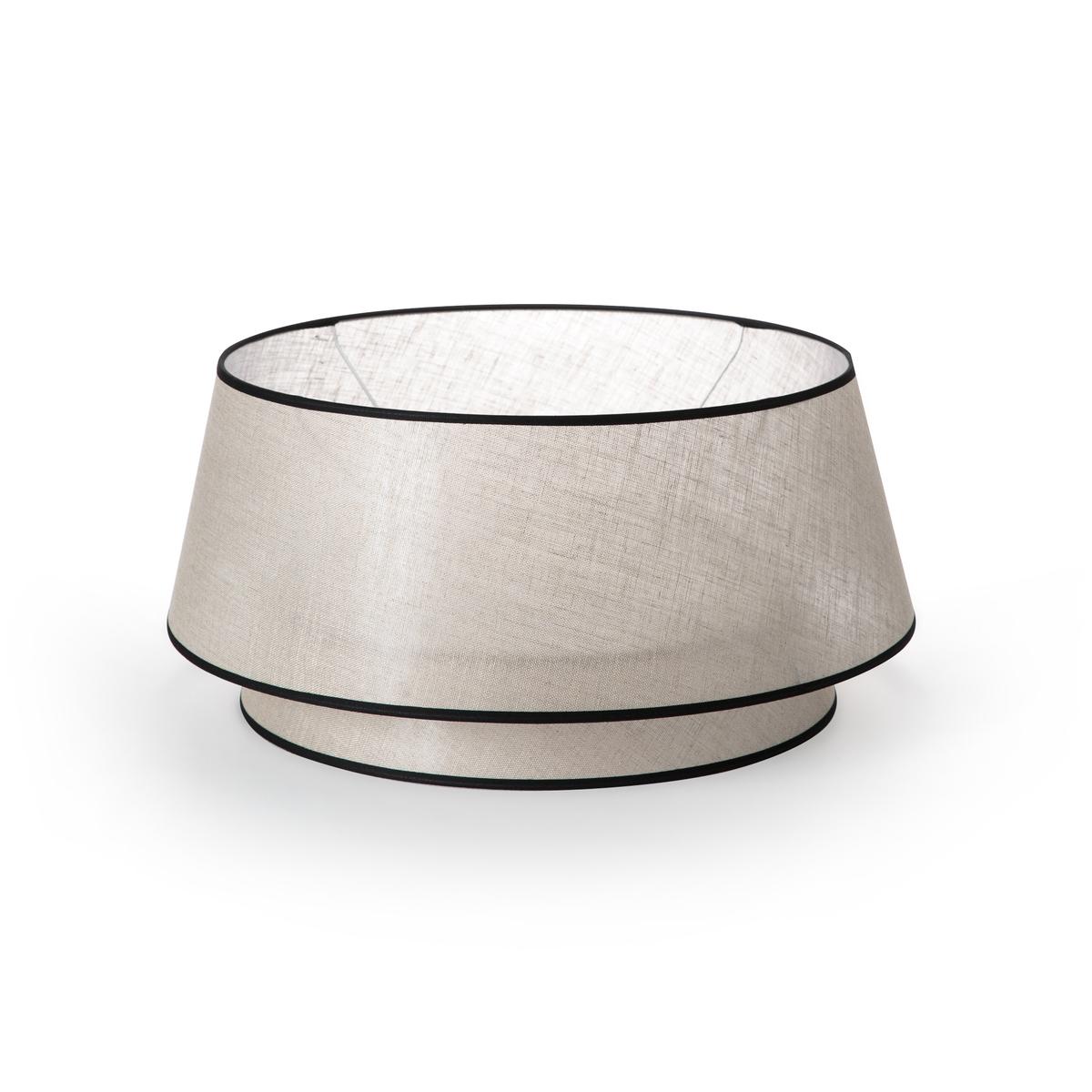Абажур La Redoute Двойной из льна Epilogon диаметр 40 см бежевый абажур для подвесного светильника epilogon