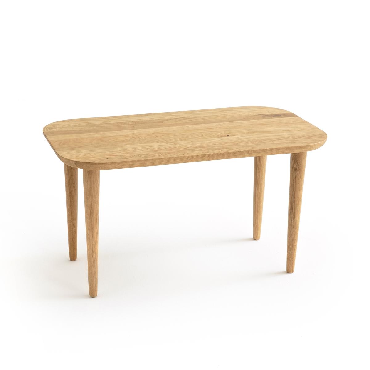 Столик журнальный из дуба CRUESO столик журнальный квадратный из массива дуба crueso