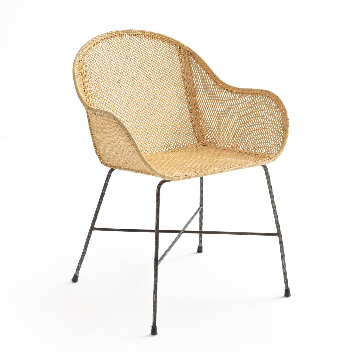 Кресло La Redoute Disthene единый размер бежевый наволочка la redoute flooch 50 x 30 см бежевый