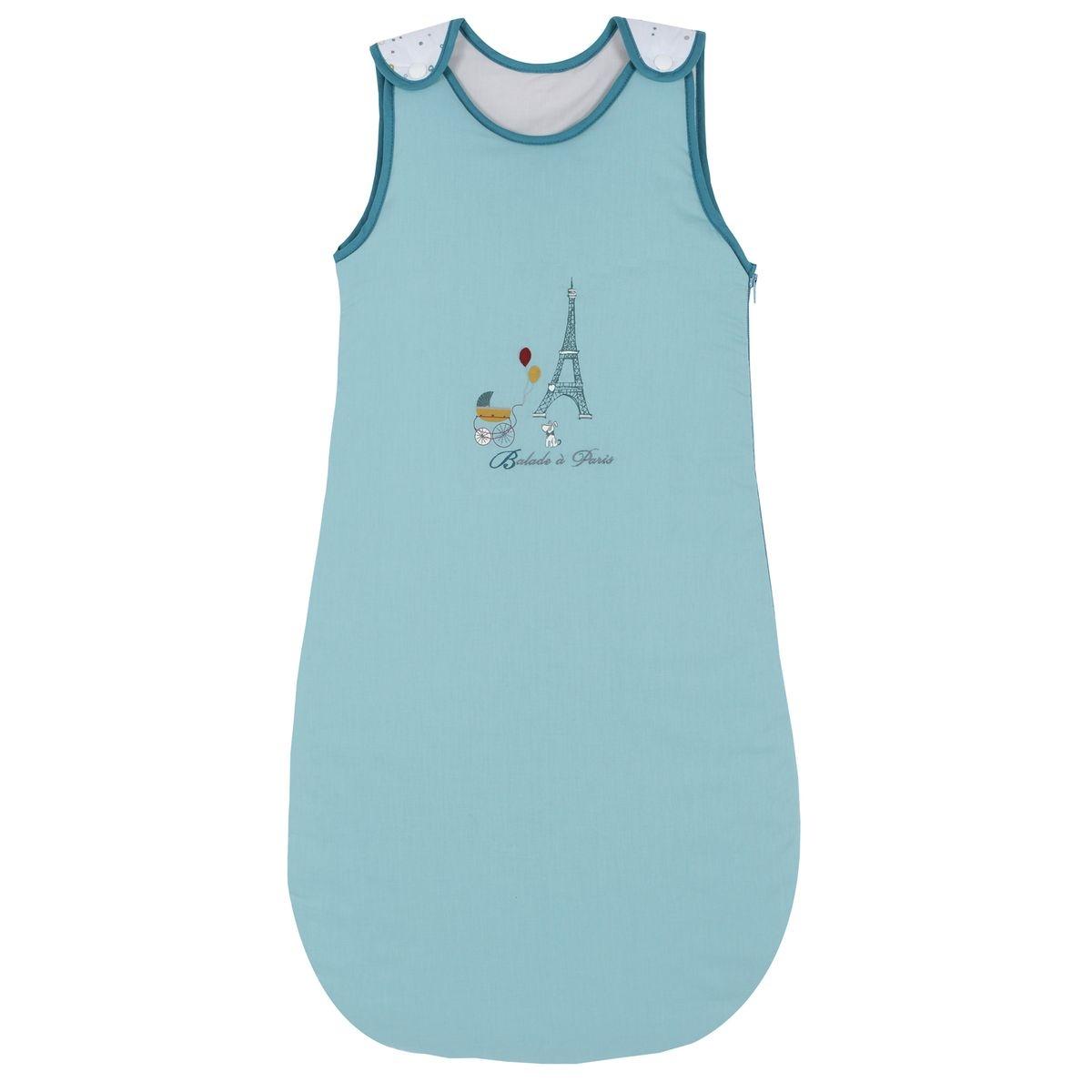 Gigoteuse naissance P'tit Basile Collection 'Little Paris' - 6-24mois - Bleu