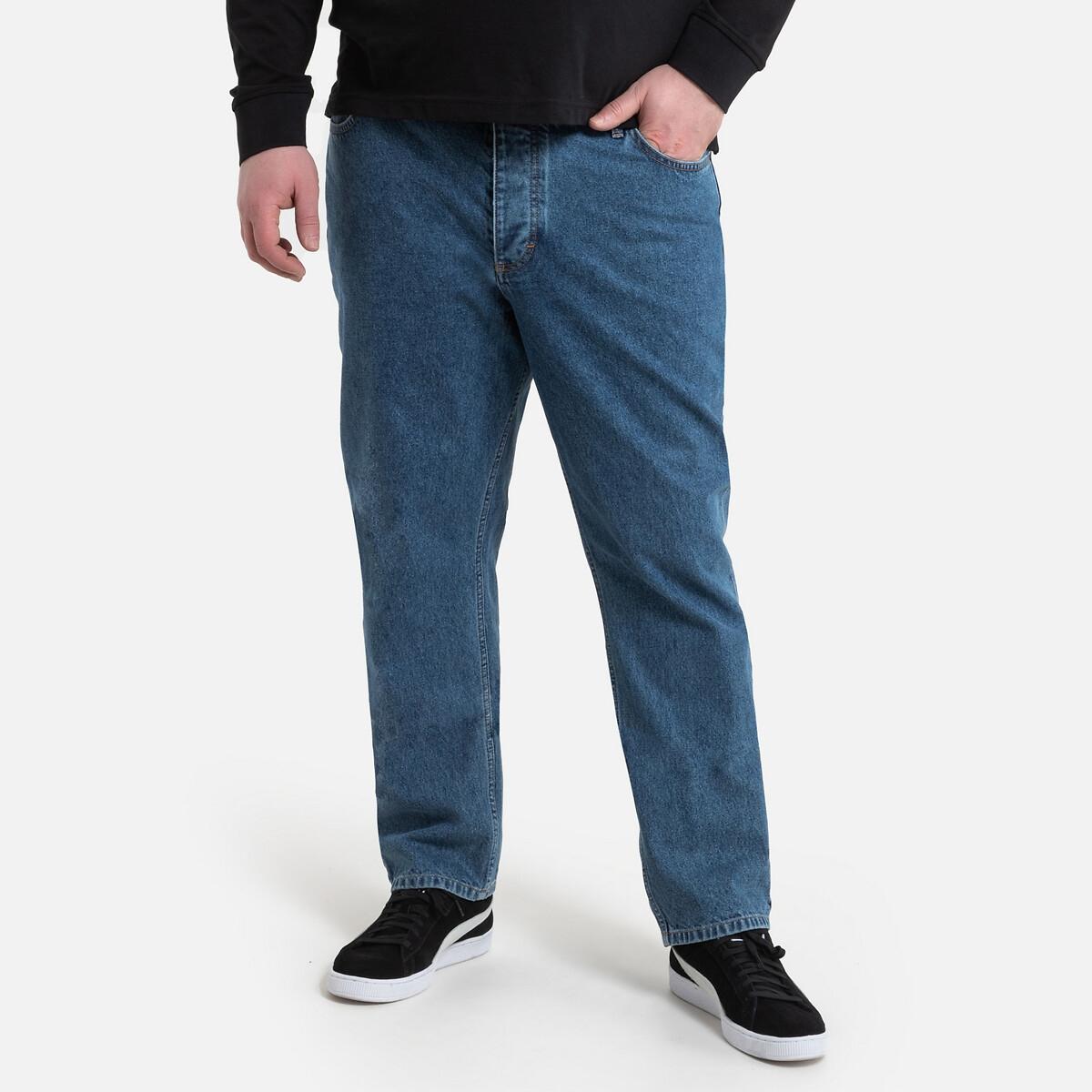 Jeans regular direitos, em algodão biológico