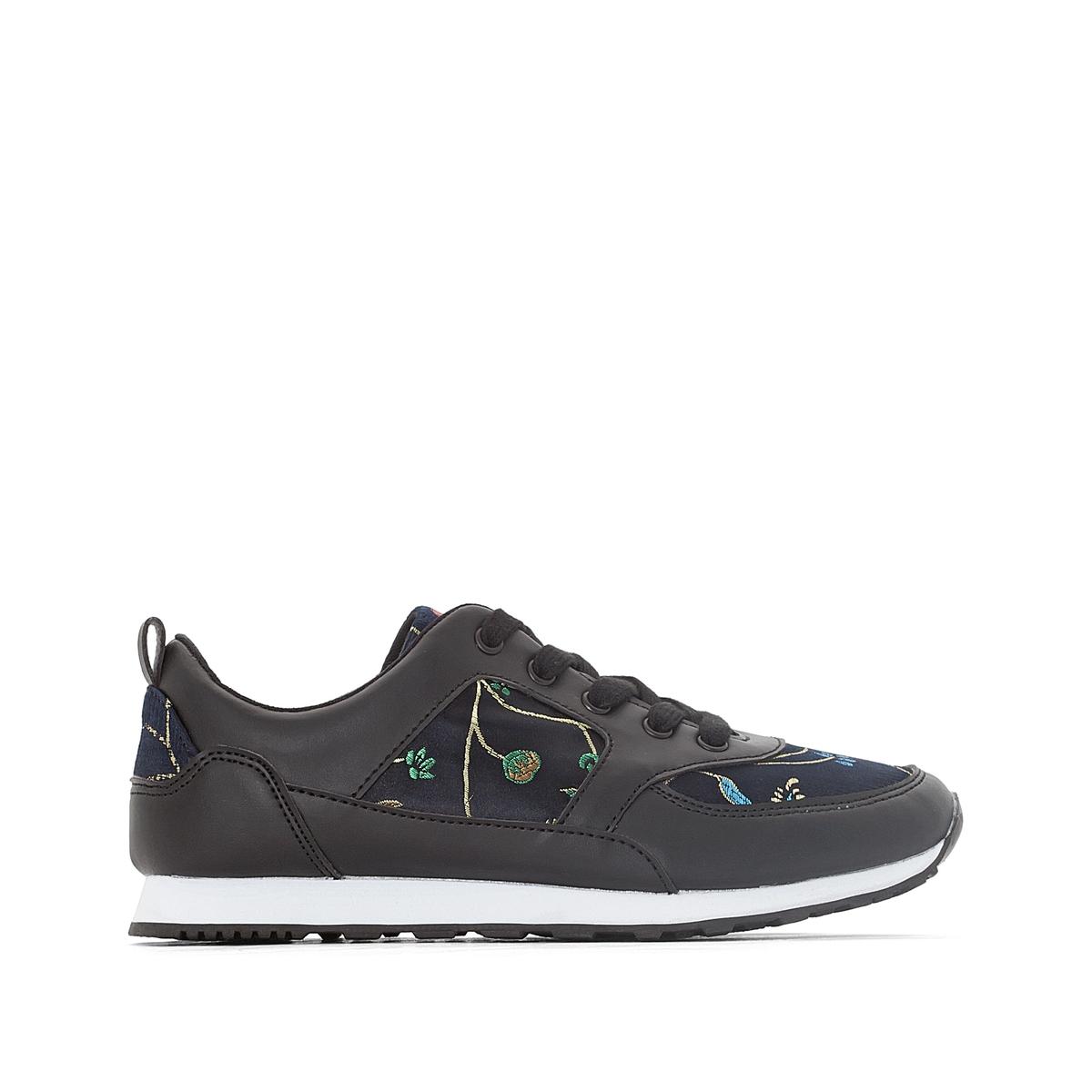 Кроссовки для бега с цветочным рисунком